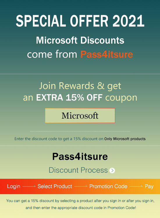 Pass4itsure Microsoft MB-330 exam discount code 2021